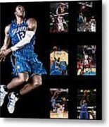Dwight Howard Metal Print by Joe Hamilton