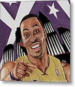 Dwight Howard Welcome To The  Lake Show Metal Print by Israel Torres