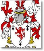Dwyer Coat Of Arms Irish Metal Print