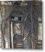 Dying Days Of An Old Building Metal Print