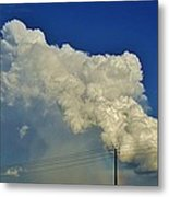 Dying Texas Supercell Metal Print
