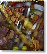 Dysmetria Of Thought In Cerebellar Ataxia 5 Metal Print by Sandra Pena de Ortiz