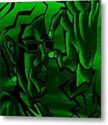 E Vincent Green Metal Print