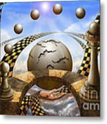 Each Pawn Dreams To Become A Queen Metal Print