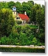 Eagle Bluff Lighthouse Of Door County   Metal Print