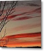 Eagle County Sunset Metal Print