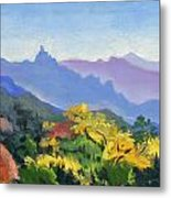 Eagle Craggs Vista Metal Print