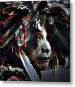 Eagle Feather Metal Print