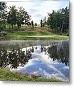 Eagle Knoll Golf Club - Hole Six Metal Print