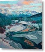 Eagle River Solstice Metal Print