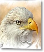 Eagle6 Metal Print by Marty Koch