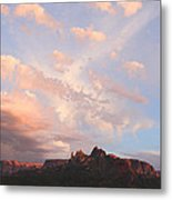 Eagles Crags  Metal Print