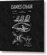 Eames Chair Patent 4 Metal Print