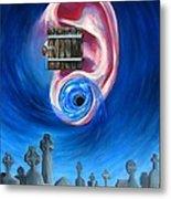 Ear To Hear Metal Print