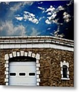 Early 1900s St. Louis Firehouse Metal Print
