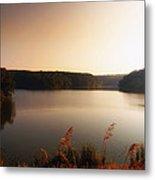 Early Autumn On The Lake Metal Print