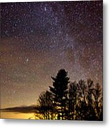 Early Evening Milky Way Metal Print by Steven Valkenberg