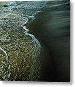 Early Evening Surf Metal Print