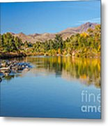Early Fall On The Payette Metal Print