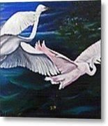 Early Flight Metal Print by Karin  Dawn Kelshall- Best