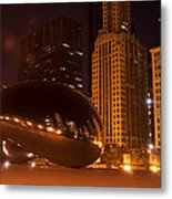 Early Hours In Chicago Metal Print