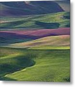 Early Light In The Palouse Metal Print