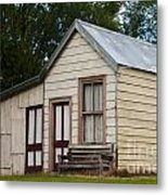 Early Miner's House Metal Print