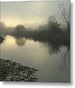Early Mist Metal Print