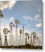 Early Model Wind Farm Metal Print
