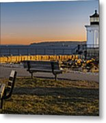 Early Morning At Bug Lighthouse Metal Print