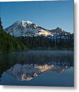 Early Morning At Mount Rainier Metal Print