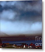 Early Morning At The Golden Gate Metal Print