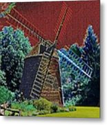 Early Morning At The Mill Metal Print