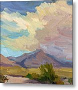 Early Morning At Thousand Palms Metal Print