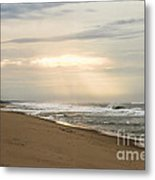 Early Morning By The Shore  Metal Print