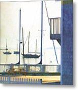 Early Morning Camden Harbor Maine Metal Print