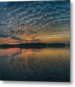 Early Morning Clouds Metal Print