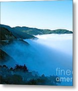 Early Morning Coastline Metal Print