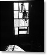 Early Morning In Historic Cabin Metal Print