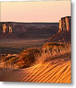 Early Morning In Monument Valley Metal Print