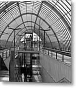 Early Morning In Station Sloterdijk In Amsterdam Metal Print