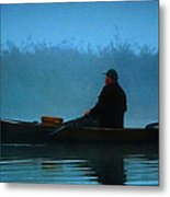 Early Morning Lake Joy  Metal Print