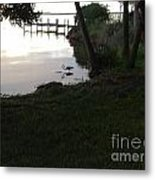 Early Morning Meal Metal Print