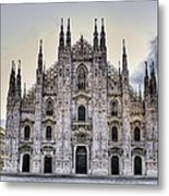Early Morning On Il Duomo Metal Print