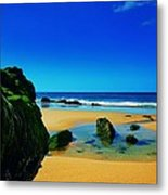 Early Morning On The Beach II Metal Print