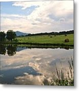 Early Morning On The Pond 2 Metal Print