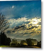 Early Morning On The Road Again Metal Print