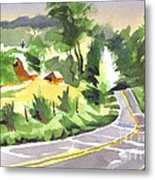Early Morning Out Route Jj Metal Print