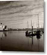 Early Morning River Suir, Waterford Metal Print