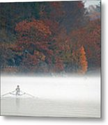 Early Morning Row Metal Print